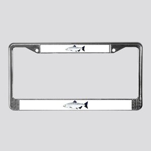 Chinook King Salmon f License Plate Frame