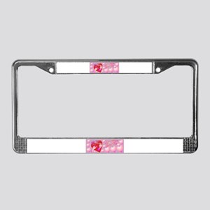 Little Miss Sexy Toes License Plate Frame