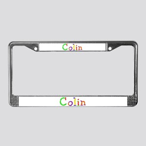 Colin Balloons License Plate Frame