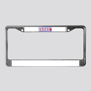 CBSS ARES License Plate Frame