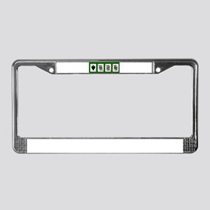 The Royal Spades Cards License Plate Frame