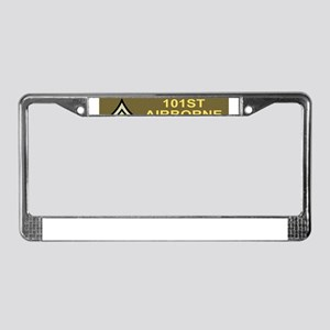 Army-101st-Airborne-Div-WWII-C License Plate Frame
