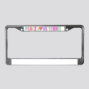 bumper License Plate Frame