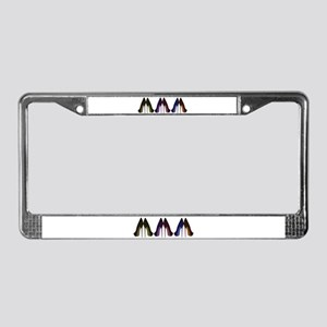 Pretty Shoes All In A Row License Plate Frame