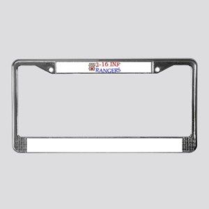 2nd Bn 16th Infantry cap1 License Plate Frame