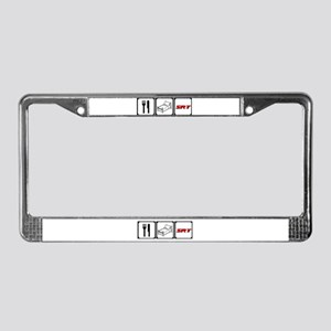 Eat Sleep SRT License Plate Frame