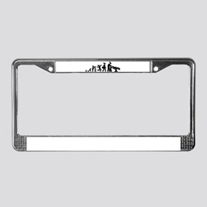 Hairdressing License Plate Frame