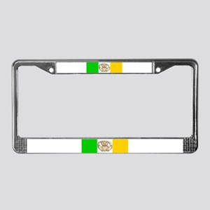 Irish Claddagh License Plate Frame