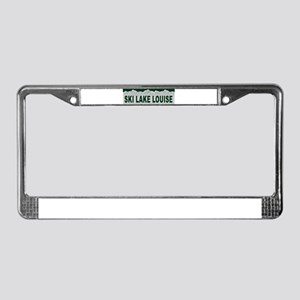 Ski Lake Louise, Alberta License Plate Frame