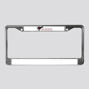 Adopt a Greyhound License Plate Frame