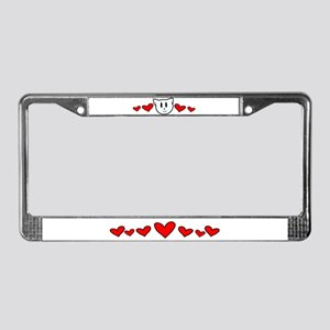 Kitty Love License Plate Frame