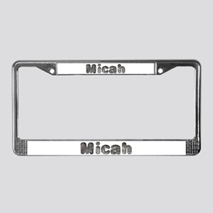 Micah Wolf License Plate Frame