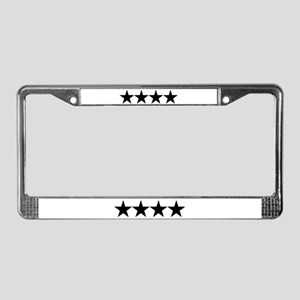 FOUR STAR GENERAL X™ License Plate Frame