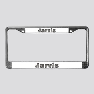 Jarvis Wolf License Plate Frame