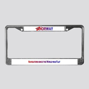 Norway License Plate Frame