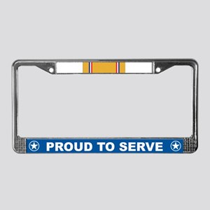 American Defense License Plate Frame