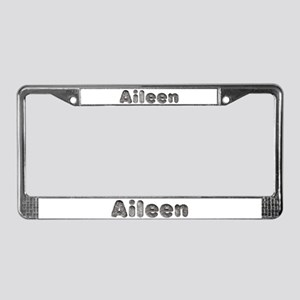 Aileen Wolf License Plate Frame