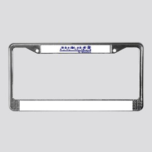 St. Maarten License Plate Frame