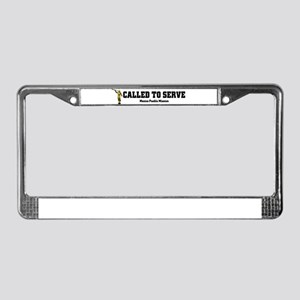 Mexico Puebla LDS Mission Cal License Plate Frame
