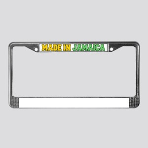 Made In Jamaica Baby Hat License Plate Frame