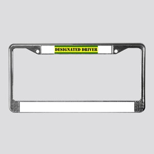 Designated Driver II License Plate Frame