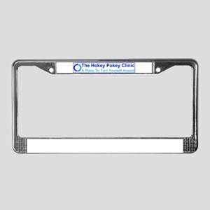 Hokey Pokey Clinic License Plate Frame