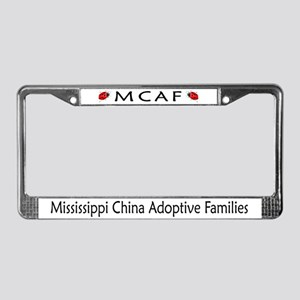 Mississippi Adoption License Plate Frame