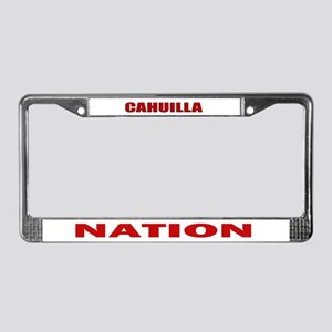 Cahuilla Nation License Plate Frame