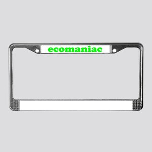 Ecomaniac License Plate Frame