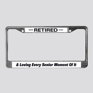Retirement / Senior License Plate Frame