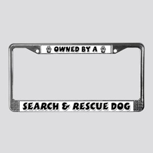 Search & Rescue License Plate Frame