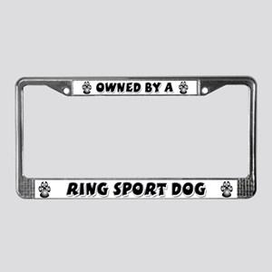 Ring Sport License Plate Frame