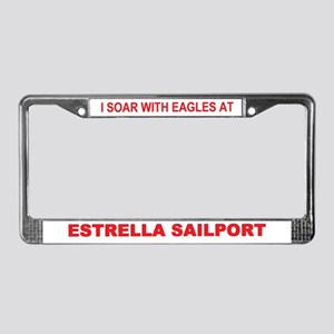 ESTRELLA SAILPORT License Plate Frame