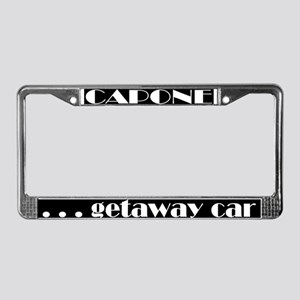 Capone License Plate Frame