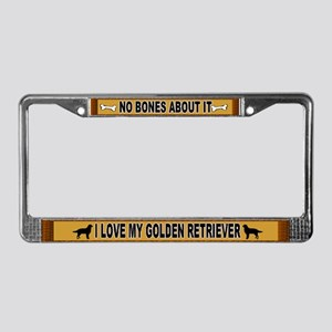No Bones About It! License Plate Frame
