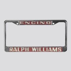 Ralph Williams Ford License Plate Frame