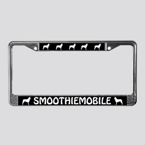 Smoothiemobile Smooth Collies License Plate Frame