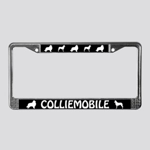 Collie License Plate Frame (Rough and Smooth)