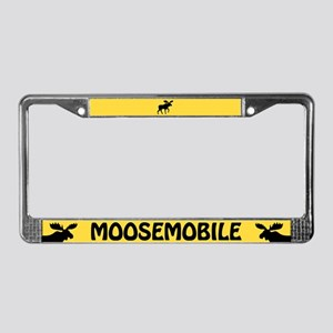 Moosemobile License Plate Frame