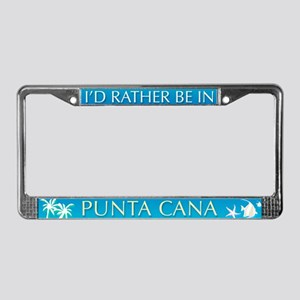 Punta Cana License Plate Frame
