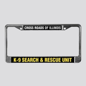 Cross Roads Licence Plate Frame