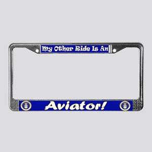 Safe Sex With An Aviator License Plate Frame