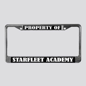 Property of Starfleet Academy License Frame