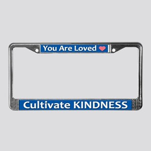 Loved License Plate Frame