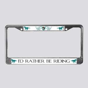 Lucky Horse License Plate Frame