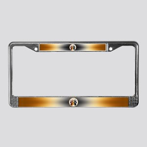 BEAR Paw 1 License Plate Frame