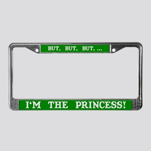 The Princess (Green) License Plate Frame