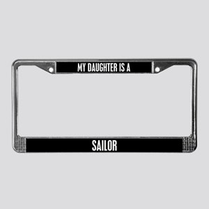 Sailor Daughter License Plate Frame