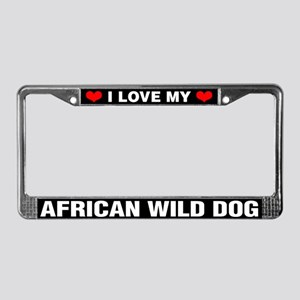 I Love My African Wild Dog