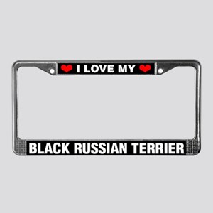 I Love My Black Russian Terrier